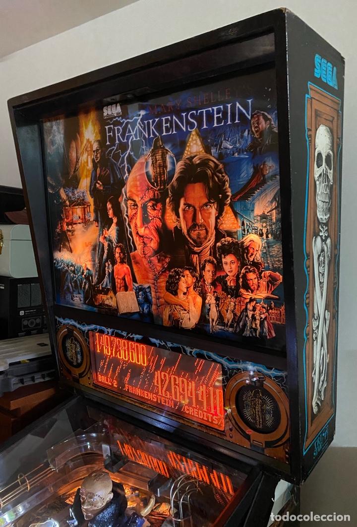 Videojuegos y Consolas: PINBALL FRANKENSTEIN SEGA 1995 - Foto 9 - 260681510