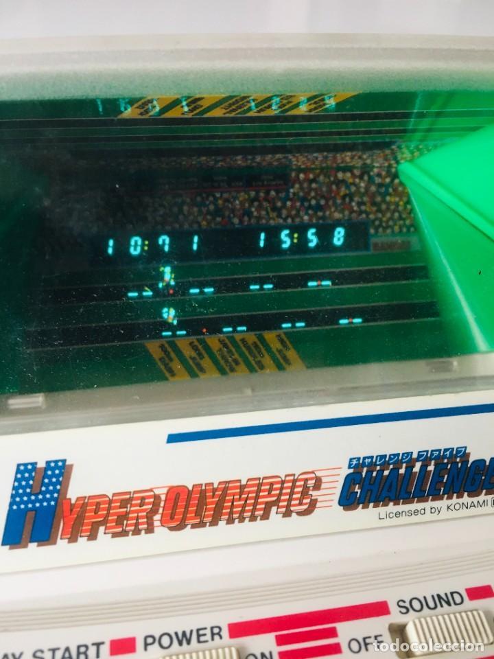 Videojuegos y Consolas: Game watch Hyper Olimpics bandai, olimpiadas, Nintendo, sega, recreativa, - Foto 2 - 260765215