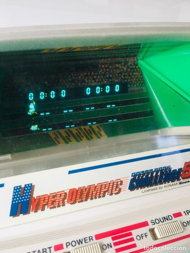 Videojuegos y Consolas: Game watch Hyper Olimpics bandai, olimpiadas, Nintendo, sega, recreativa, - Foto 5 - 260765215