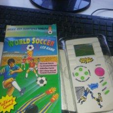 Videojuegos y Consolas: JUEGO FUTBOL WORLD SOCCER LCD GAME. Lote 260858280