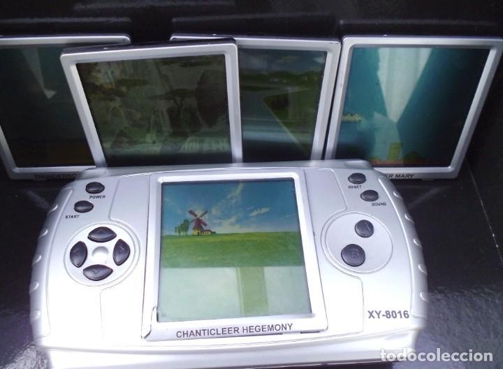 Videojuegos y Consolas: Consola de juegos ,con 5 juegos diferentes funcionando como ves en las fotos - Foto 2 - 261587815