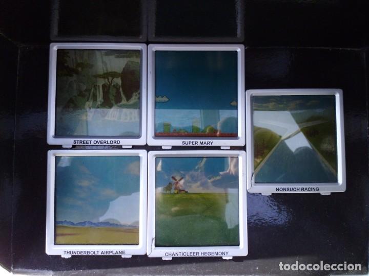 Videojuegos y Consolas: Consola de juegos ,con 5 juegos diferentes funcionando como ves en las fotos - Foto 6 - 261587815