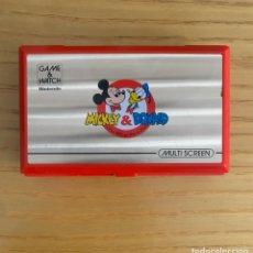 Videojuegos y Consolas: NINTENDO GAME AND WATCH MICKEY & DONALD. Lote 261863155