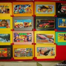 Videojuegos y Consolas: LOTE JUEGOS ANTIGUOS FAMICOM. Lote 262954605