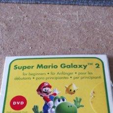 Videojuegos y Consolas: DVD - SUPER MARIO GALAXY 2 PARA PRINCIPIANTES. Lote 263235615