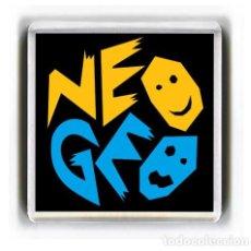 Videojuegos y Consolas: IMAN ACRILICO NEVERA - VIDEOJUEGOS NEO GEO. Lote 74548603