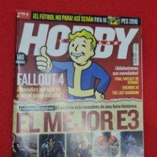 Videojogos e Consolas: REVISTA HOBBY CONSOLAS N° 288 ESPECIAL 48 PÁGINAS MAS. Lote 266953664