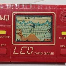 Jeux Vidéo et Consoles: RARISIMA MAQUINITA NO GAME AND WATCH Q&Q ROJA PERFECTO FUNCIONAMIENTO. Lote 267522704