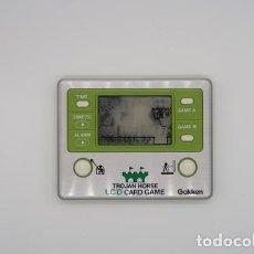 Videojogos e Consolas: CONSOLA DE JUEGOS LCD GAKKEN TROJAN HORSE AÑOS 80 . CON CAJA ORIGINAL . NO FUNCIONA. Lote 267804854