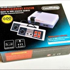 Videojuegos y Consolas: MINI CONSOLA RETRO 600 JUEGOS NUEVA A ESTRENAR. Lote 268137004