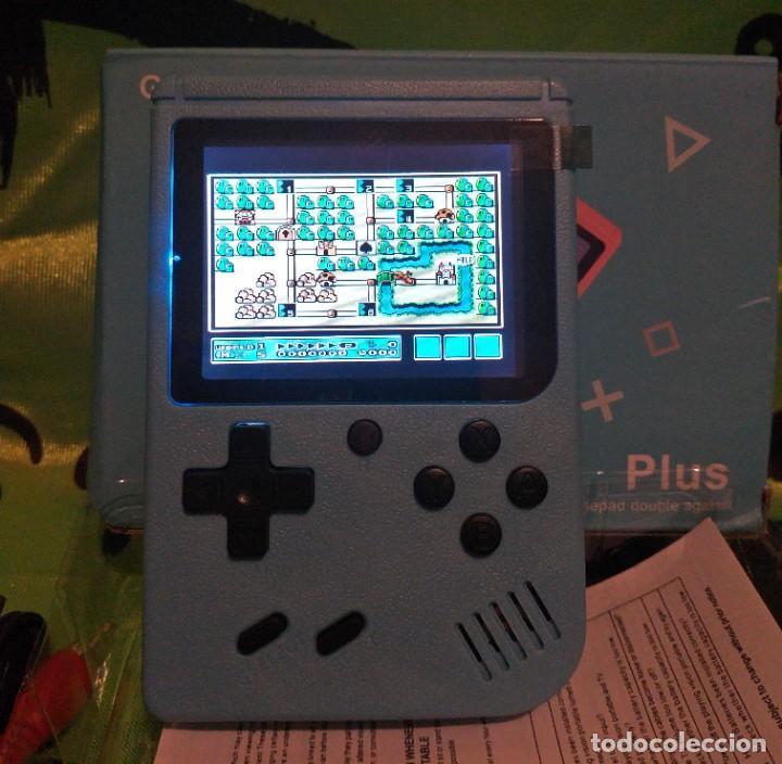 """Videojuegos y Consolas: consola de video juego portátil - 3"""" LCD - 400 Juegos clasicos . Color azul - Nueva. - Foto 6 - 268156079"""