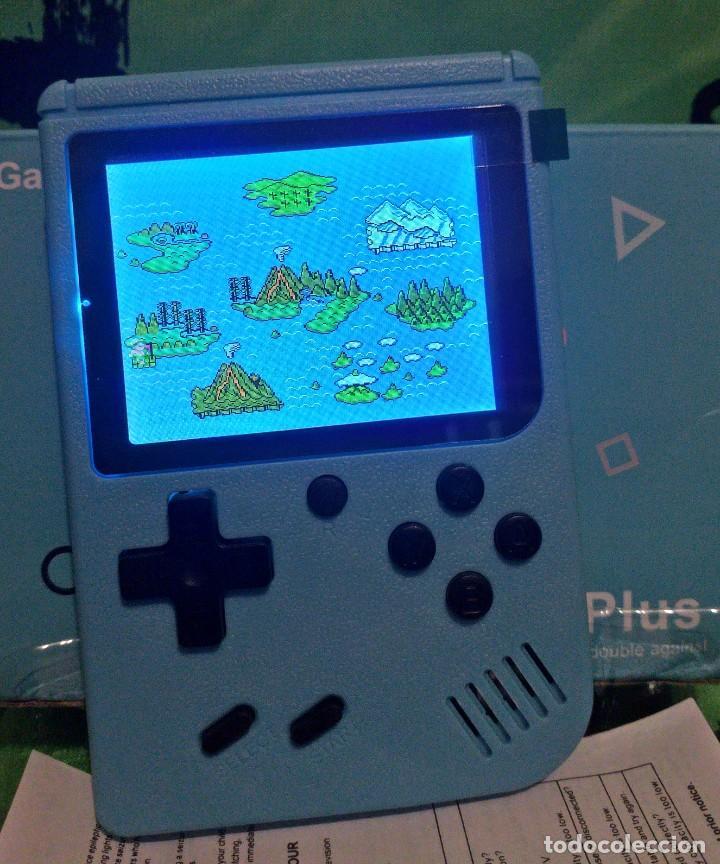 """Videojuegos y Consolas: consola de video juego portátil - 3"""" LCD - 400 Juegos clasicos . Color azul - Nueva. - Foto 7 - 268156079"""
