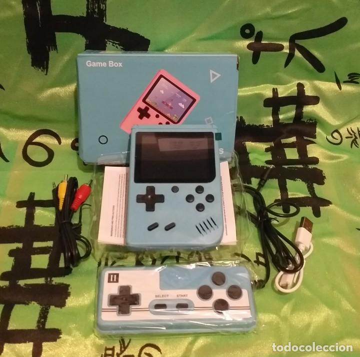 """Videojuegos y Consolas: consola de video juego portátil - 3"""" LCD - 400 Juegos clasicos . Color azul - Nueva. - Foto 4 - 268156274"""