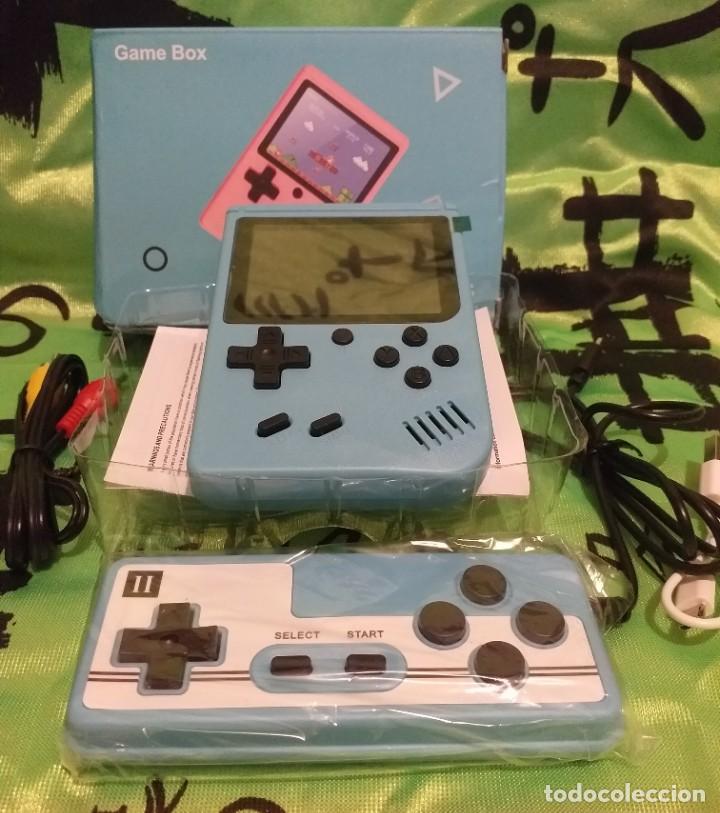 """Videojuegos y Consolas: consola de video juego portátil - 3"""" LCD - 400 Juegos clasicos . Color azul - Nueva. - Foto 5 - 268156274"""