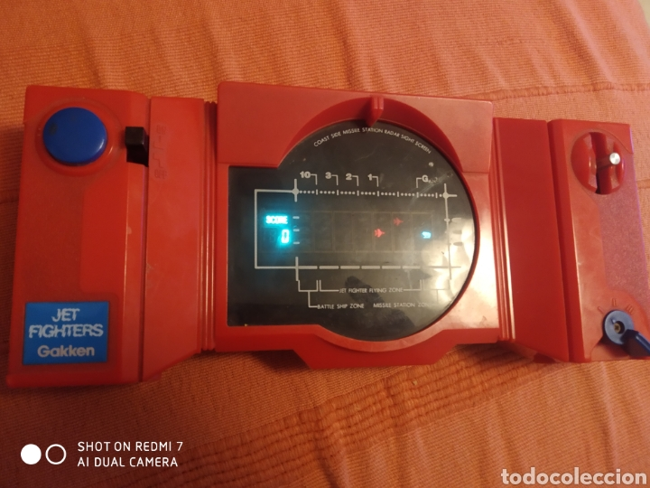 Videojuegos y Consolas: Antigua maquina consola jet fighters gakken - Foto 4 - 268173599