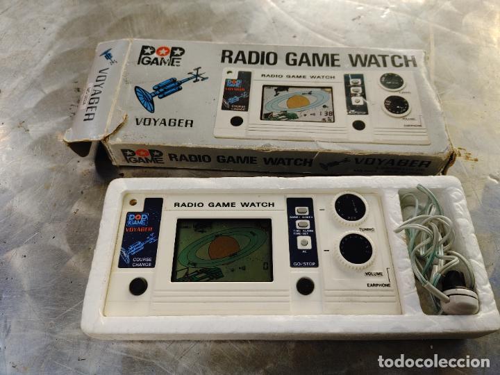 RADIO GAME WATCH VOYAGER. MADRE IN JAPAN. POP GAME EN SU CAJA CON INSTRUCCIONES Y AURICULAR (Juguetes - Videojuegos y Consolas - Otros descatalogados)