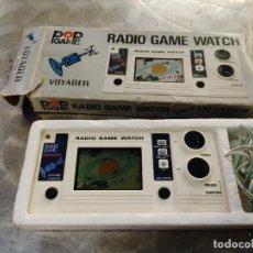 Videojuegos y Consolas: RADIO GAME WATCH VOYAGER. MADRE IN JAPAN. POP GAME EN SU CAJA CON INSTRUCCIONES Y AURICULAR. Lote 268258134