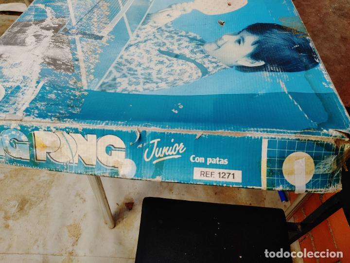 Videojuegos y Consolas: JUEGO MESA PING PONG JUNIOR CON PATAS DE JUGUETES RIMA EN SU CAJA AÑOS 80 REF. 1271 FABRICADO ESPAÑA - Foto 12 - 268258734
