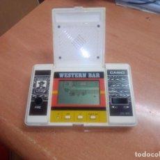 Videojuegos y Consolas: MAQUINITA VIDEOJUEGO CASIO WESTERN BAR OESTE. Lote 268600779