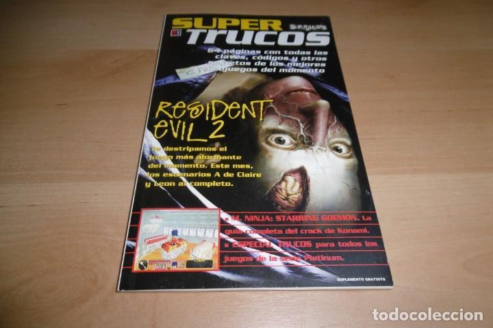 GUIA SUPER TRUCOS SUPERJUEGOS Nº 8. RESIDENT EVLL 2. (Juguetes - Videojuegos y Consolas - Otros descatalogados)