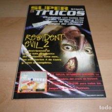 Videojuegos y Consolas: GUIA SUPER TRUCOS SUPERJUEGOS Nº 8. RESIDENT EVLL 2.. Lote 269002444