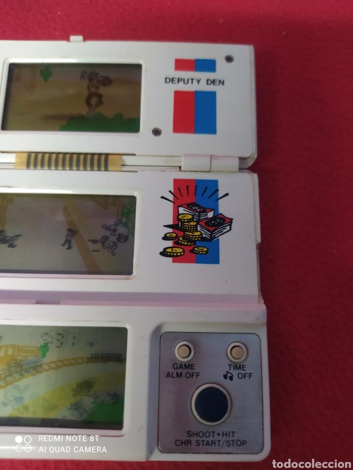 Videojuegos y Consolas: CONSOLA LCD DEPUTY DEN V TECH TRI-SCREEN - Foto 5 - 269029149