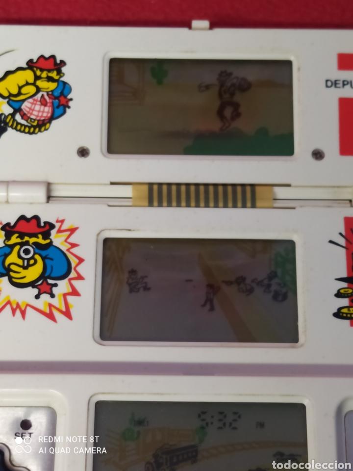 Videojuegos y Consolas: CONSOLA LCD DEPUTY DEN V TECH TRI-SCREEN - Foto 9 - 269029149