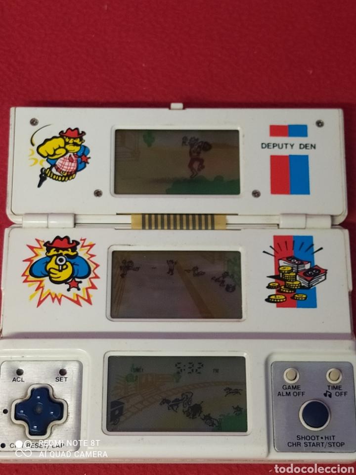 Videojuegos y Consolas: CONSOLA LCD DEPUTY DEN V TECH TRI-SCREEN - Foto 10 - 269029149
