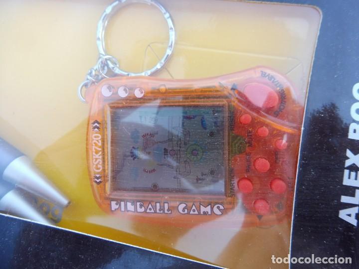 Videojuegos y Consolas: Alex bog estuche videoconsola lcd portátil pinball game con portaminas y bolígrafo - Foto 3 - 269067048