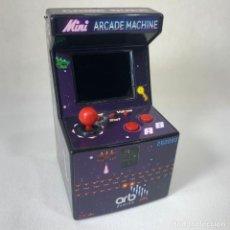 Videojuegos y Consolas: MAQUINITA CONSOLA MINI ARCADE MACHINE - ORB GAMING - FUNCIONA. Lote 269131963
