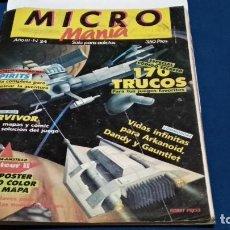 Videojuegos y Consolas: REVISTA MICRO MANIA Nº 24 - JUNIO 1987 MICROMANIA - HOBBY PRESS. Lote 270187418