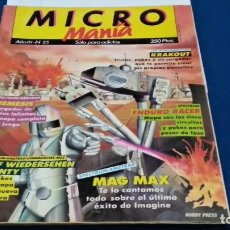 Videojuegos y Consolas: REVISTA MICRO MANIA Nº 25 - JULIO 1987 MICROMANIA - HOBBY PRESS. Lote 270187643