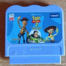 Videojuegos y Consolas: TOY STORY 2.EL RESCATE DE WOODY.VTECH.CONSOLA.ANTIGUO.V SMILE.2005.JUEGOS.. Lote 271946843