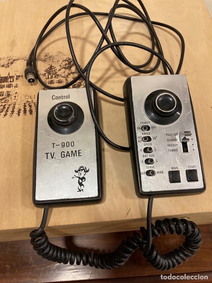 ANTIGUA CONSOLA T 900 FUNCIONA (Juguetes - Videojuegos y Consolas - Otros descatalogados)