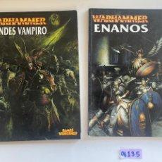 Videojuegos y Consolas: LIBROS WARHAMER. Lote 272782098