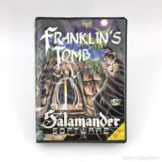 Videojuegos y Consolas: FRANKLIN´S TOMB SALAMANDER SOFTWARE DAN DIAMOND ESTUCHE DRAGON COMPUTER 32 64 200 ORDENADOR CASSETTE. Lote 273234968