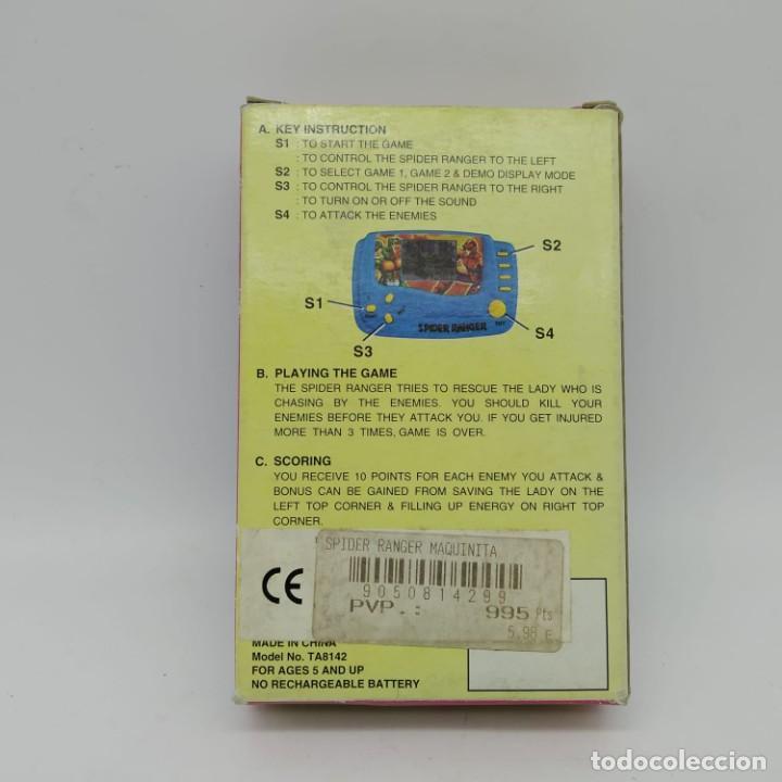 Videojuegos y Consolas: videoconsola SPIDER RANGER LCD GAME - Nueva a estrenar - Funciona - Foto 4 - 117328995