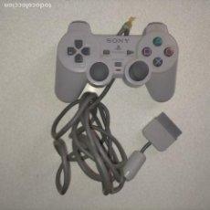 Videojuegos y Consolas: MANDO SONY PLAYSTATION 2 PS2. ORIGINAL. COLOR GRIS - EL CABLE PARA REPARAR , FACIL ARREGLO. Lote 274332018