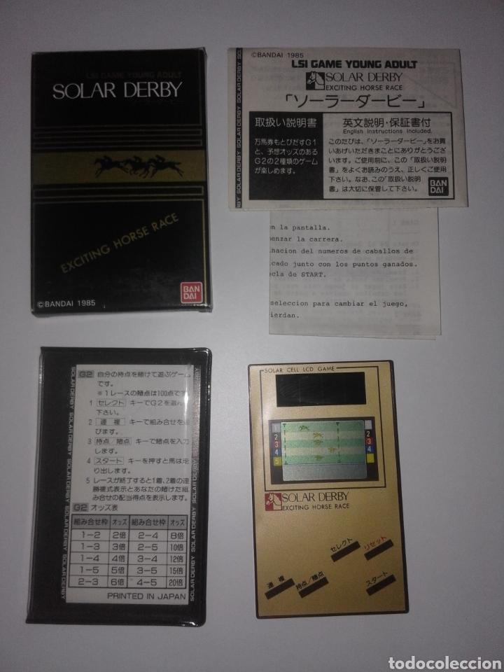 Videojuegos y Consolas: Juego Bandai 1985 Funcionamiento solar Game & Watch - Foto 2 - 276966763