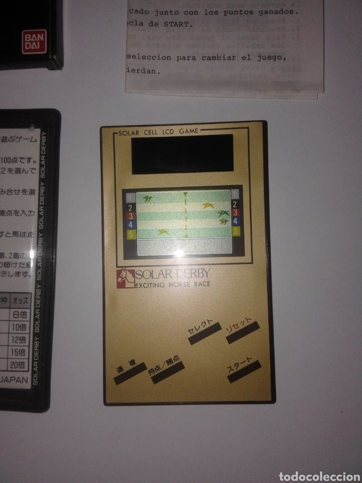Videojuegos y Consolas: Juego Bandai 1985 Funcionamiento solar Game & Watch - Foto 3 - 276966763