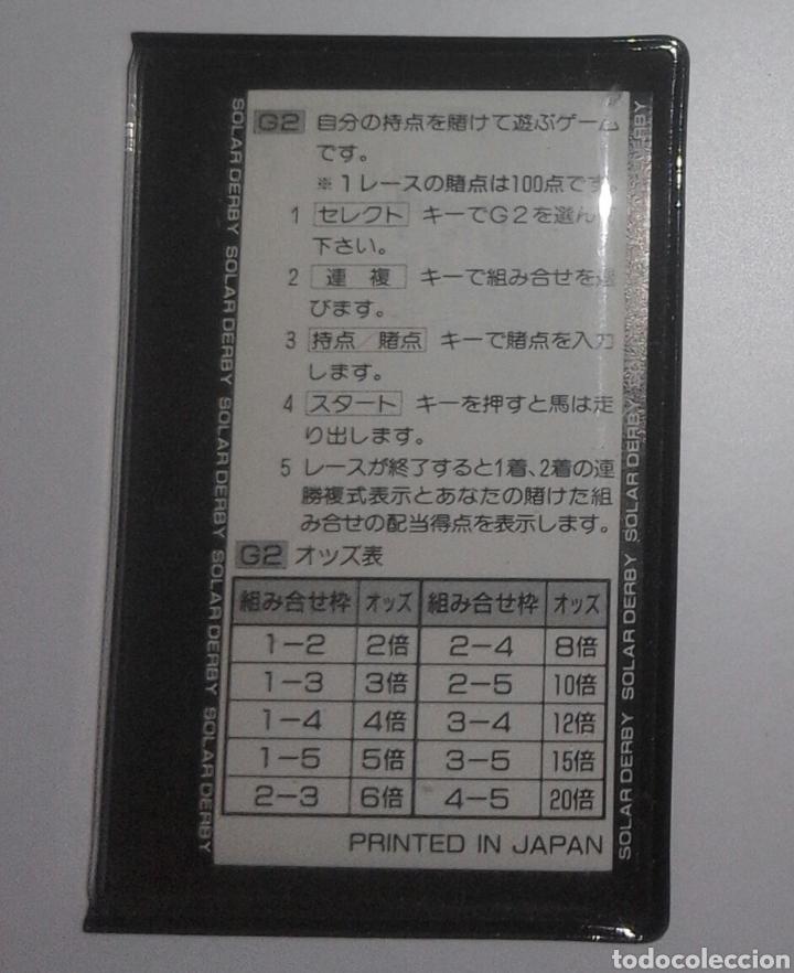 Videojuegos y Consolas: Juego Bandai 1985 Funcionamiento solar Game & Watch - Foto 6 - 276966763
