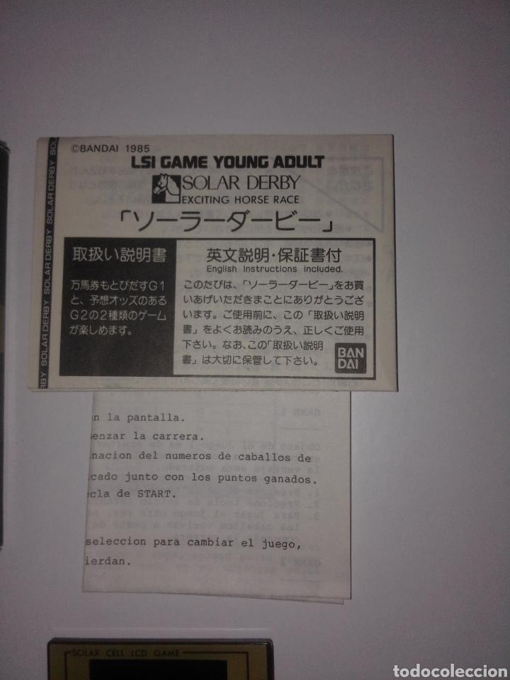 Videojuegos y Consolas: Juego Bandai 1985 Funcionamiento solar Game & Watch - Foto 7 - 276966763