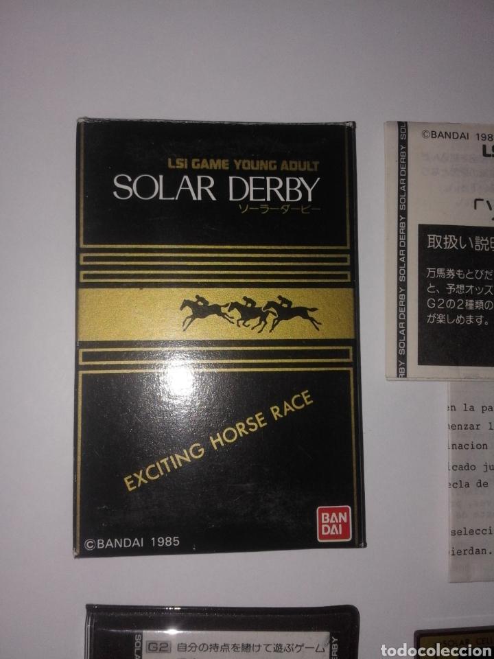 JUEGO BANDAI 1985 FUNCIONAMIENTO SOLAR GAME & WATCH (Juguetes - Videojuegos y Consolas - Otros descatalogados)