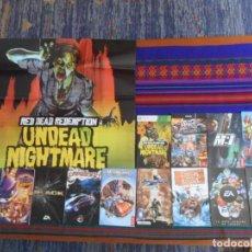 Videojuegos y Consolas: 2 LA GUÍA OFICIAL DE JUEGOS ELECTRONIC ARTS, 11 INSTRUCCIONES, MAPA UNDEAD NIGHTMARE. CON REGALO.. Lote 277033243