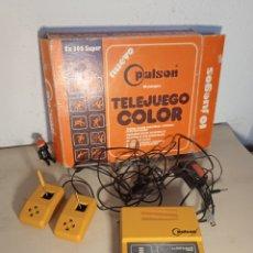 Videojuegos y Consolas: VIDEO CONSOLA PALSON. Lote 277440458