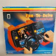 Videojuegos y Consolas: FUN-TO-DRIVE DASHBOARD VIDEOCONSOLA PLAYMATES SIMULADOR CONDUCION DE COCHES MAQUINITA. Lote 277612348