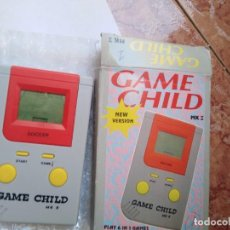 Videojuegos y Consolas: MAQUINITA GAME CHILD SOCCER -FUNCIONANDO REVISADA JUEGOS INTERCABIABLES PARA EL MISMO MODELO.. Lote 277631823