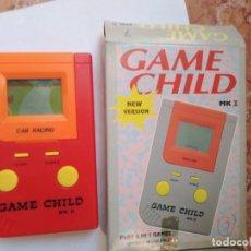 Videojuegos y Consolas: MAQUINITA GAME CHILD CAR RACING -FUNCIONANDO REVISADA JUEGOS INTERCABIABLES PARA EL MISMO MODELO.. Lote 277632158