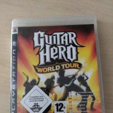 """Videojuegos y Consolas: JUEGO PLAYSTATION3 """"GUITAR HERO: WORLD TOUR"""". Lote 277756653"""