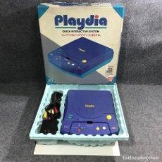 Videojuegos y Consolas: CONSOLA BANDAI PLAYDIA CON CAJA. Lote 278638643